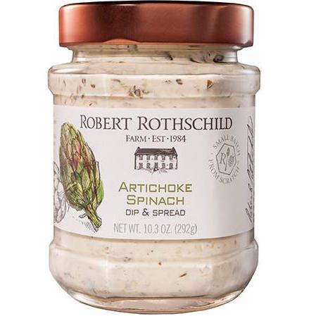 Robert Rothschild Artichoke Spinach Dip and Spread Jar