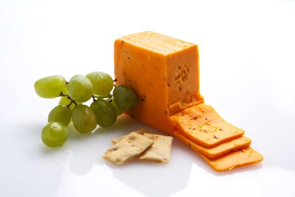 Renard's Caraway Cheddar Cheese