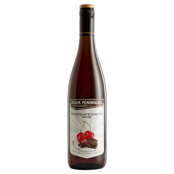Chocolate Cherry Wine - Door Peninsula Bottle