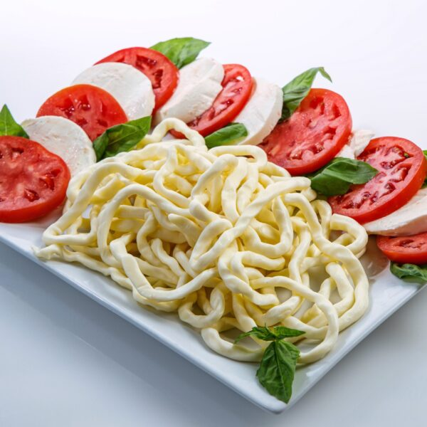 Renards Cheese strings and caprese salad
