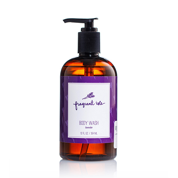 Lavender Body Wash - Fragrant Isle Bottle