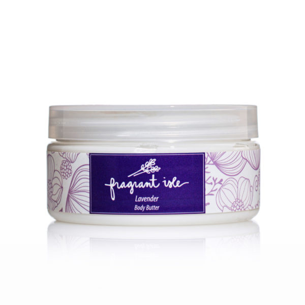 Lavender Body Butter - Fragrant Isle Jar