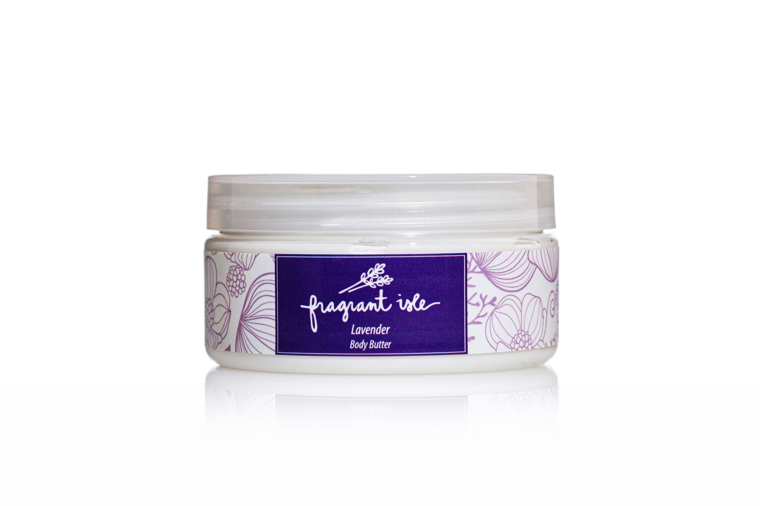 Lavender Body Butter - Fragrant Isle Jar