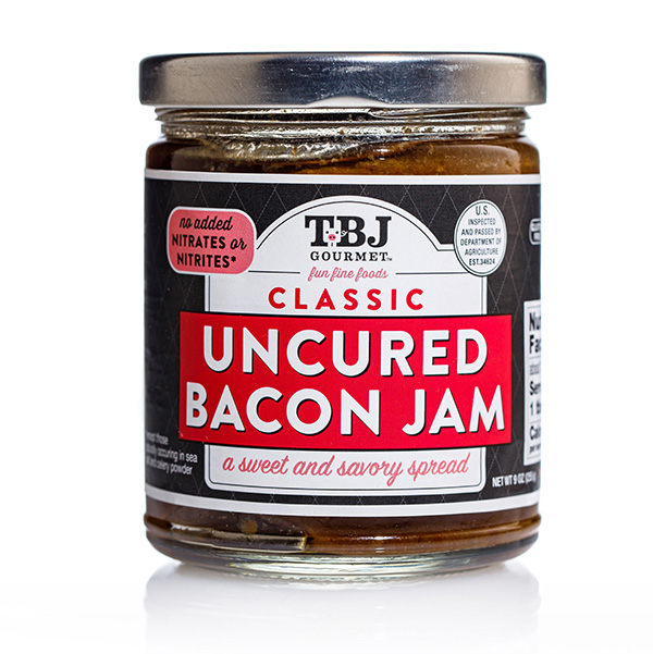 Classic Uncured Bacon Jam - TBJ Gourmet Jar