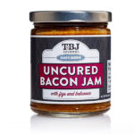 Boar's Reserve Uncured Bacon Jam with Figs & Balsamic - TBJ Gourmet Jar