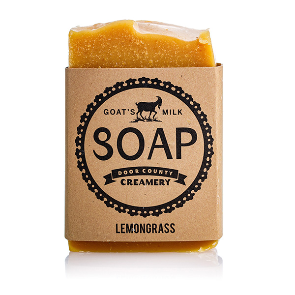 Lemongrass Goat's Milk Soap - Door County Creamery