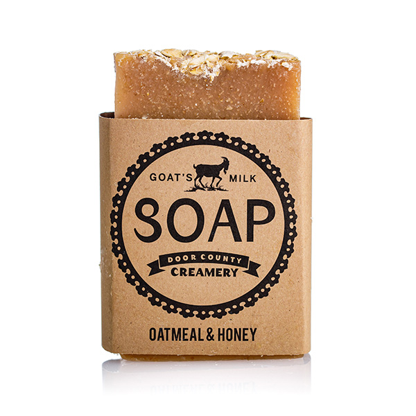Oatmeal & Honey Goat's Milk Soap - Door County Creamery