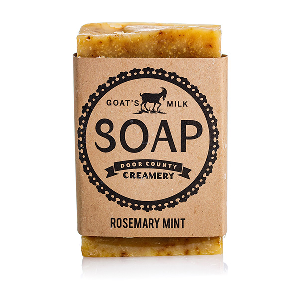 Rosemary Mint Goat's Milk Soap - Door County Creamery