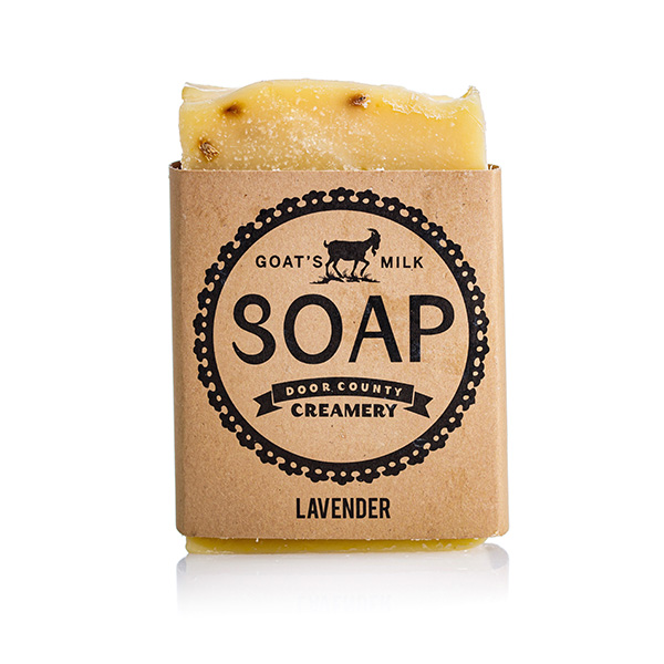 Lavender Goat's Milk Soap - Door County Creamery
