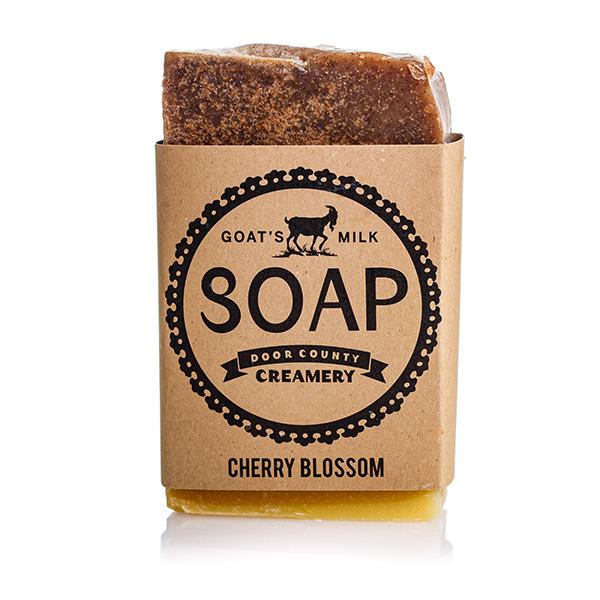 Cherry Blossom Goat's Milk Soap - Door County Creamery