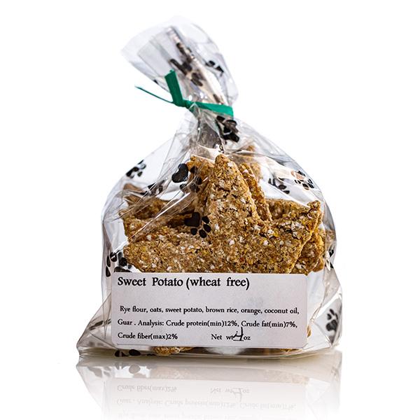 Sweet Potato Star Dog Treats - Stove Dog Bakery Bag
