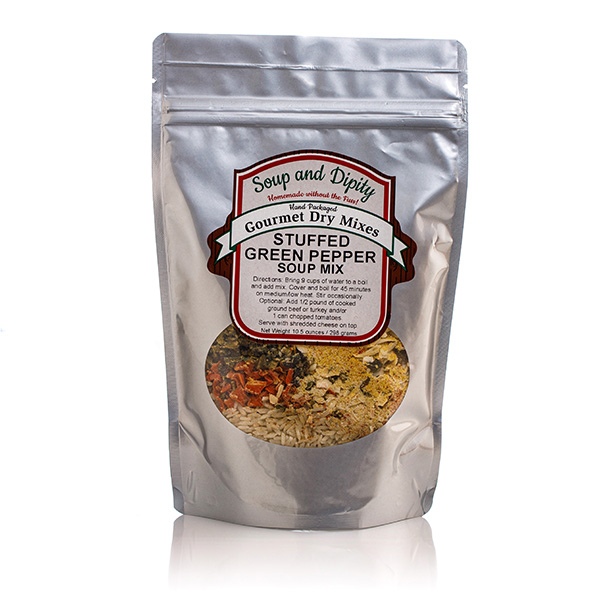 Stuffed Green Pepper Soup Mix -Soup & Dipity Bag