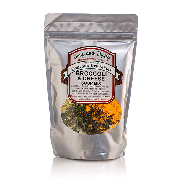 Broccoli and cheese Soup Mix -Soup & Dipity Bag
