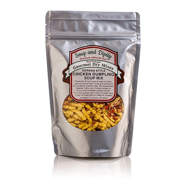 Chicken dumpling Soup Mix - Soup & Dipity Bag