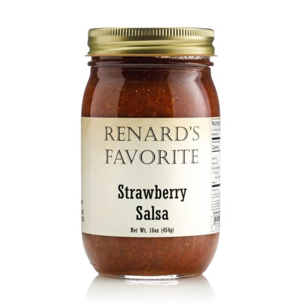 Renard's Favorite Strawberry Salsa Jar