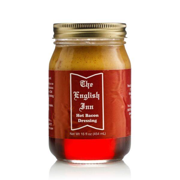 The English Inn Hot Bacon Dressing Jar
