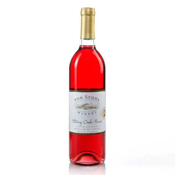 Von Stiel Winery Stoney Creek Rock Bottle