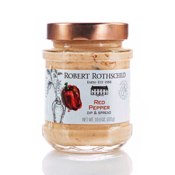 Robert Rothschild Red Pepper Dip and Spread Jar