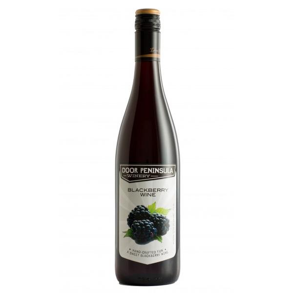 Blackberry Wine - Door Peninsula Bottle