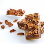 Cloverleaf Gourmet Fudge - Caramel Chocolate Pecan-5212