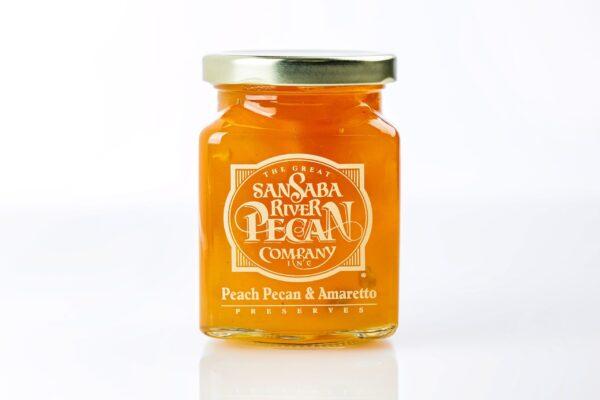 Peach Pecan & Amaretto - San Saba River Pecan Company-0