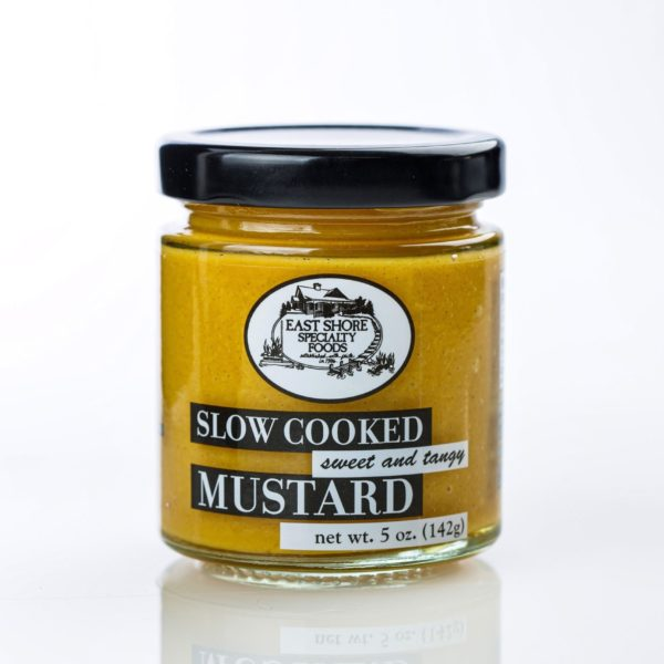 East Shore Mustard - Sweet & Tangy-0