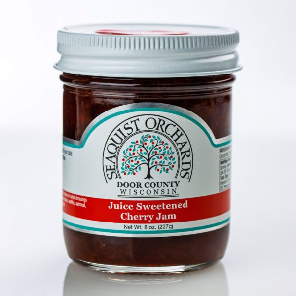 "Cherry Jam ""No Sugar"" 8oz - Seaquist-0"