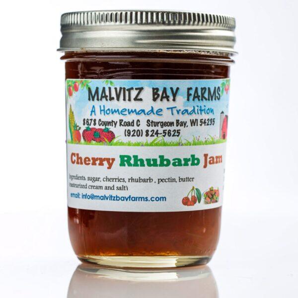 Cherry Rhubarb Jam - Malvitz-0
