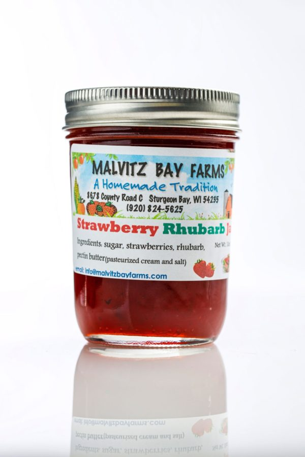 Strawberry Rhubarb Jam - Malvitz-0