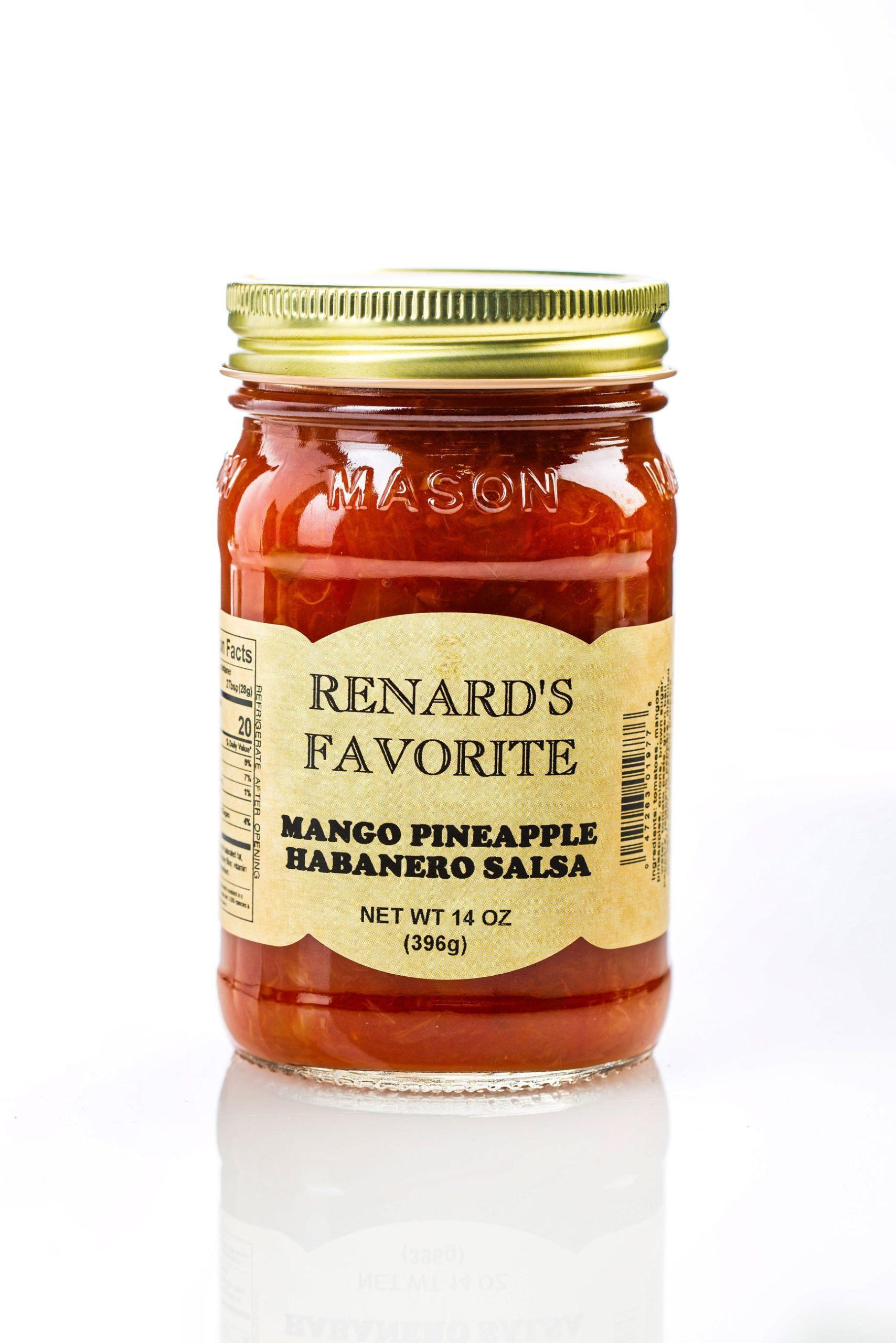 Mango Pineapple Habanero Salsa - Renard's Favorite-0