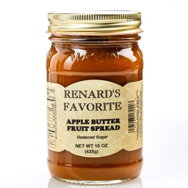 Low Sugar Apple Butter - Renard's Favorite-0