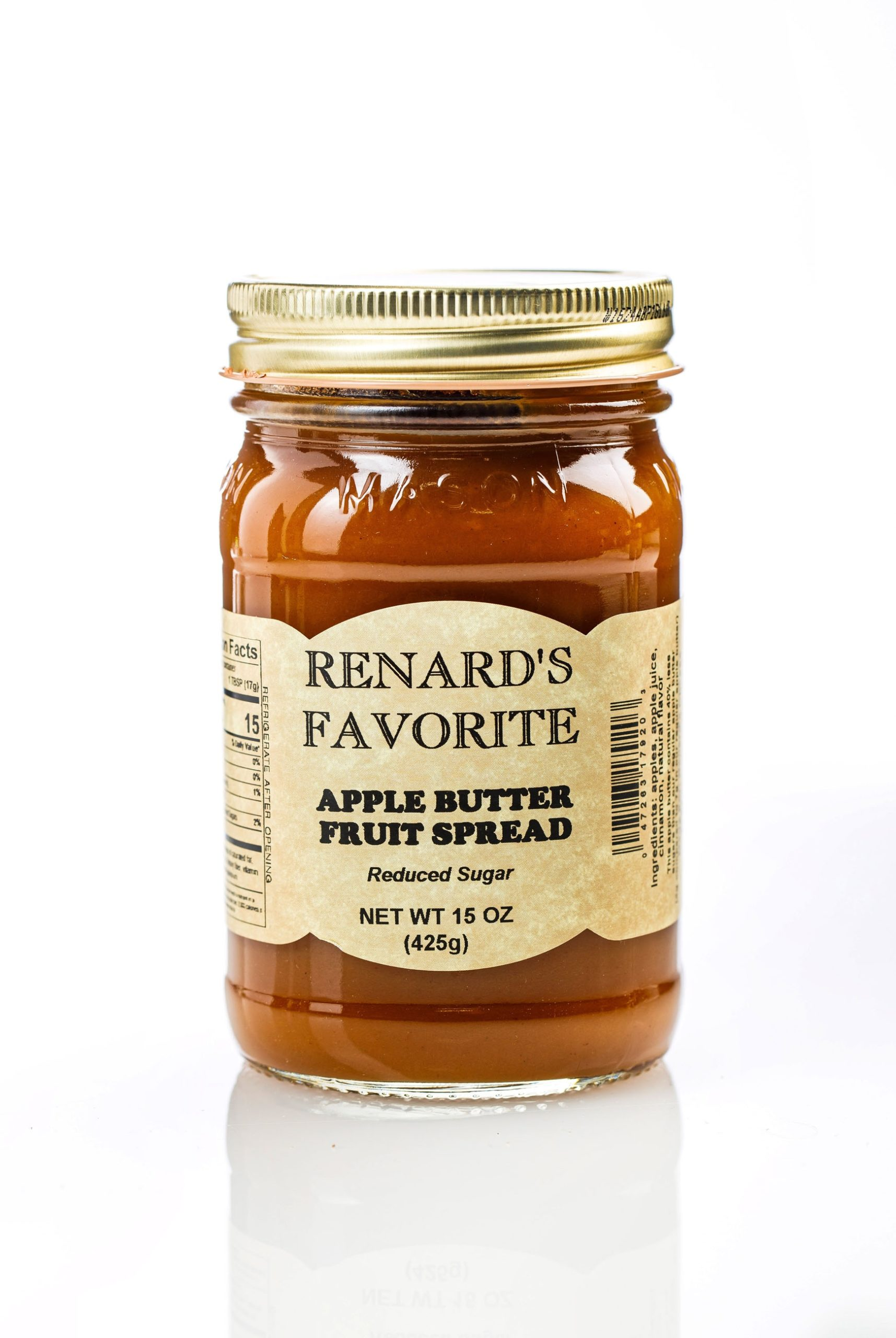 Low Sugar Apple Butter - Renard's Favorite-0