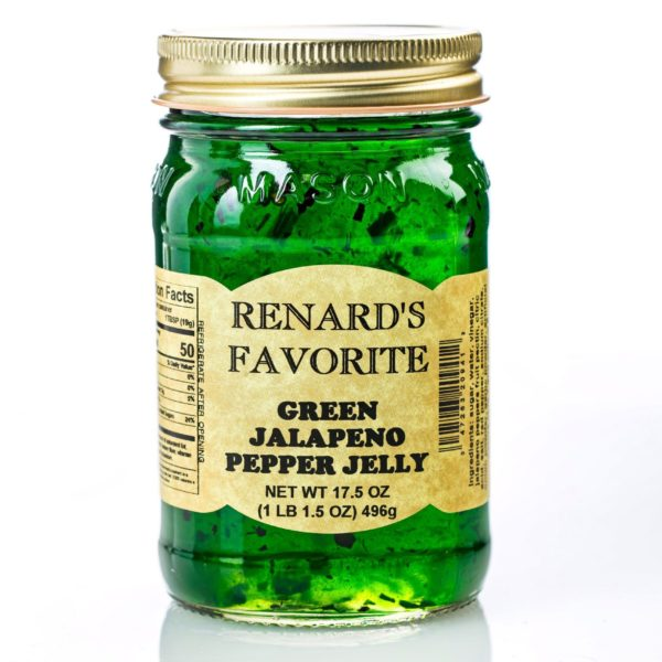 Green Jalapeno Pepper Jelly - Renard's Favorite-0