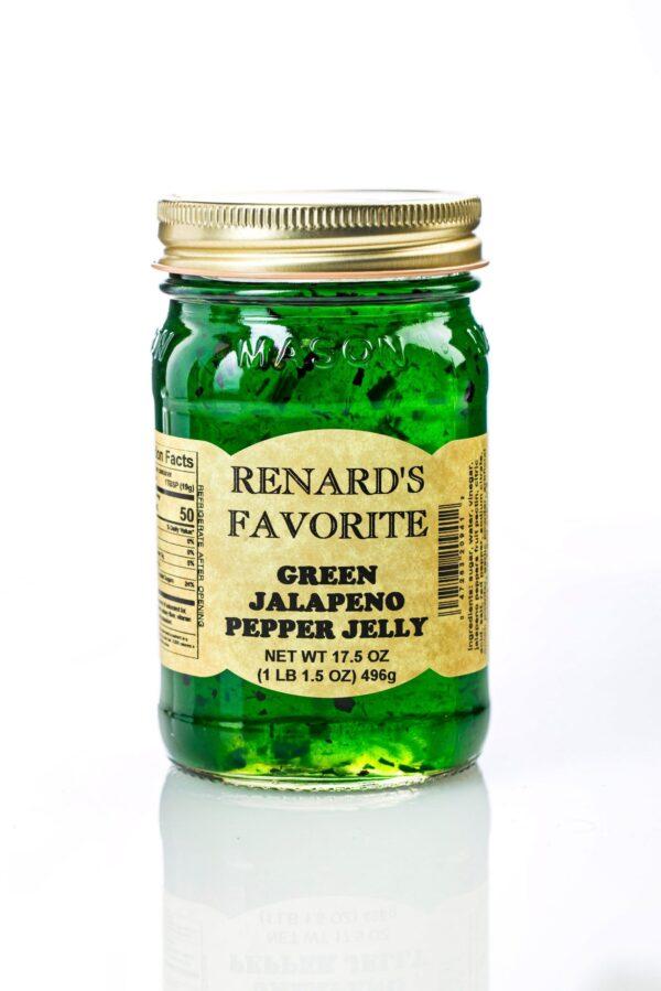 Green Jalapeno Pepper Jelly - Renard's Favorite-0