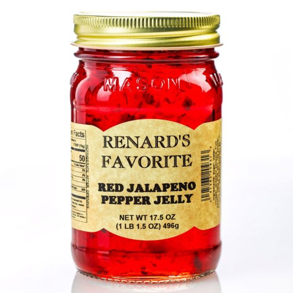 Red Jalapeno Pepper Jelly - Renard's Favorite-0