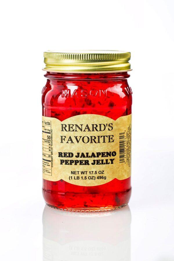 Red Jalapeno Pepper Jelly - Renard's Favorite-0