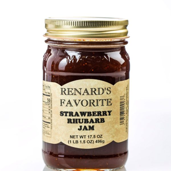 Strawberry Rhubarb Jam - Renard's Favorite-0