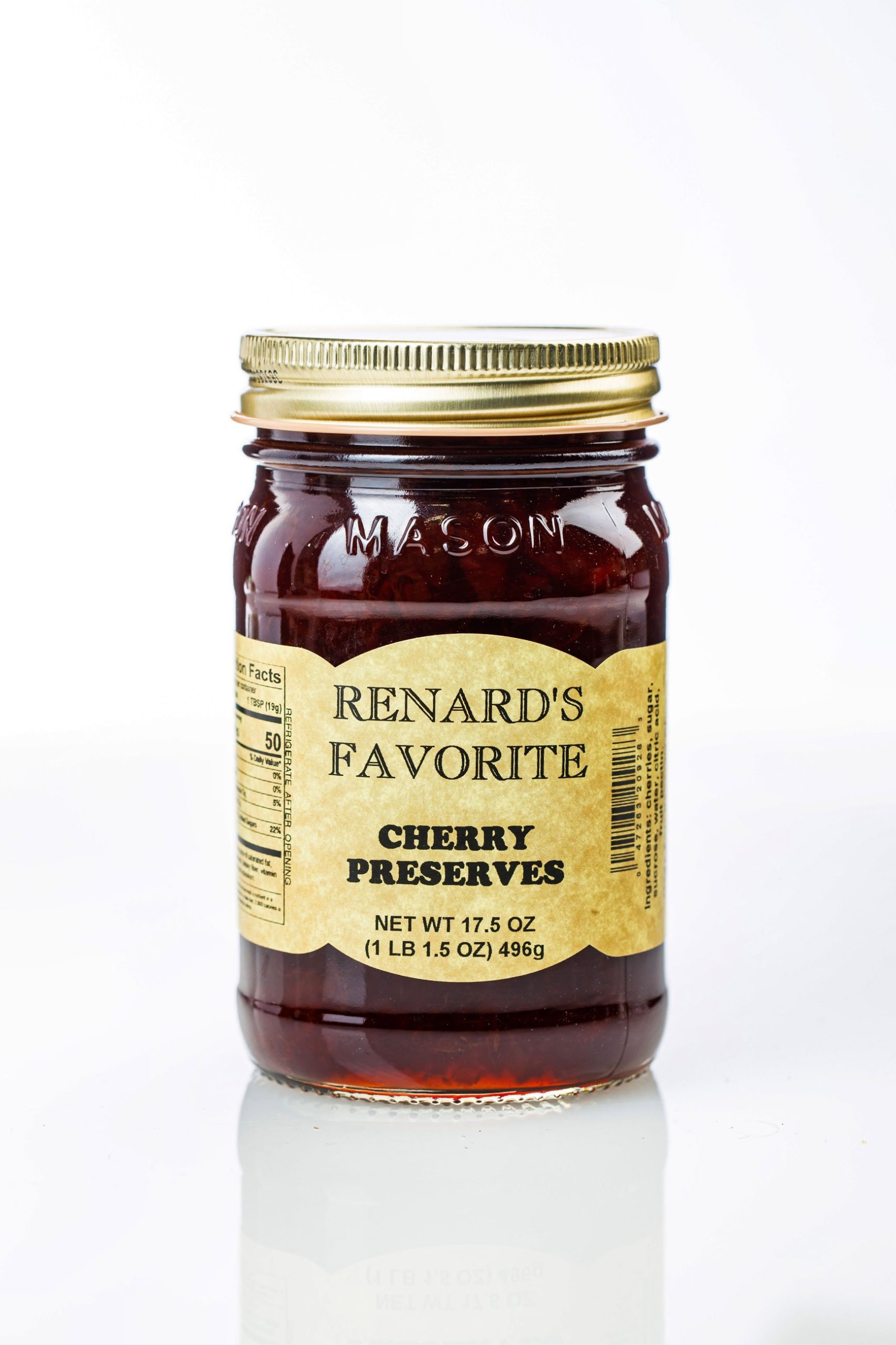 Cherry Preserves - Renard's Favorites-0