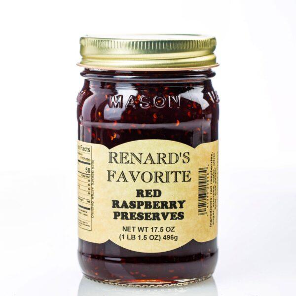 Red Raspberry Preserves - Renard's Favorites-0
