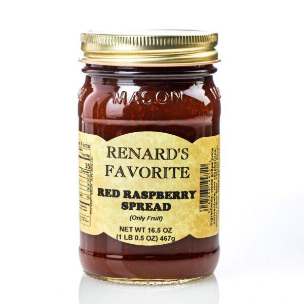 Red Raspberry Fruit Spread - Renard's Favorite-0