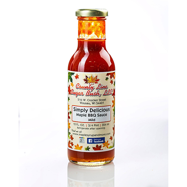 Mild Maple BBQ - County Line Sugar Bush Bottle