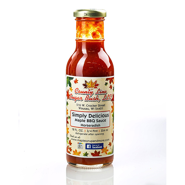 Horseradish Maple BBQ - County Line Sugar Bush Bottle