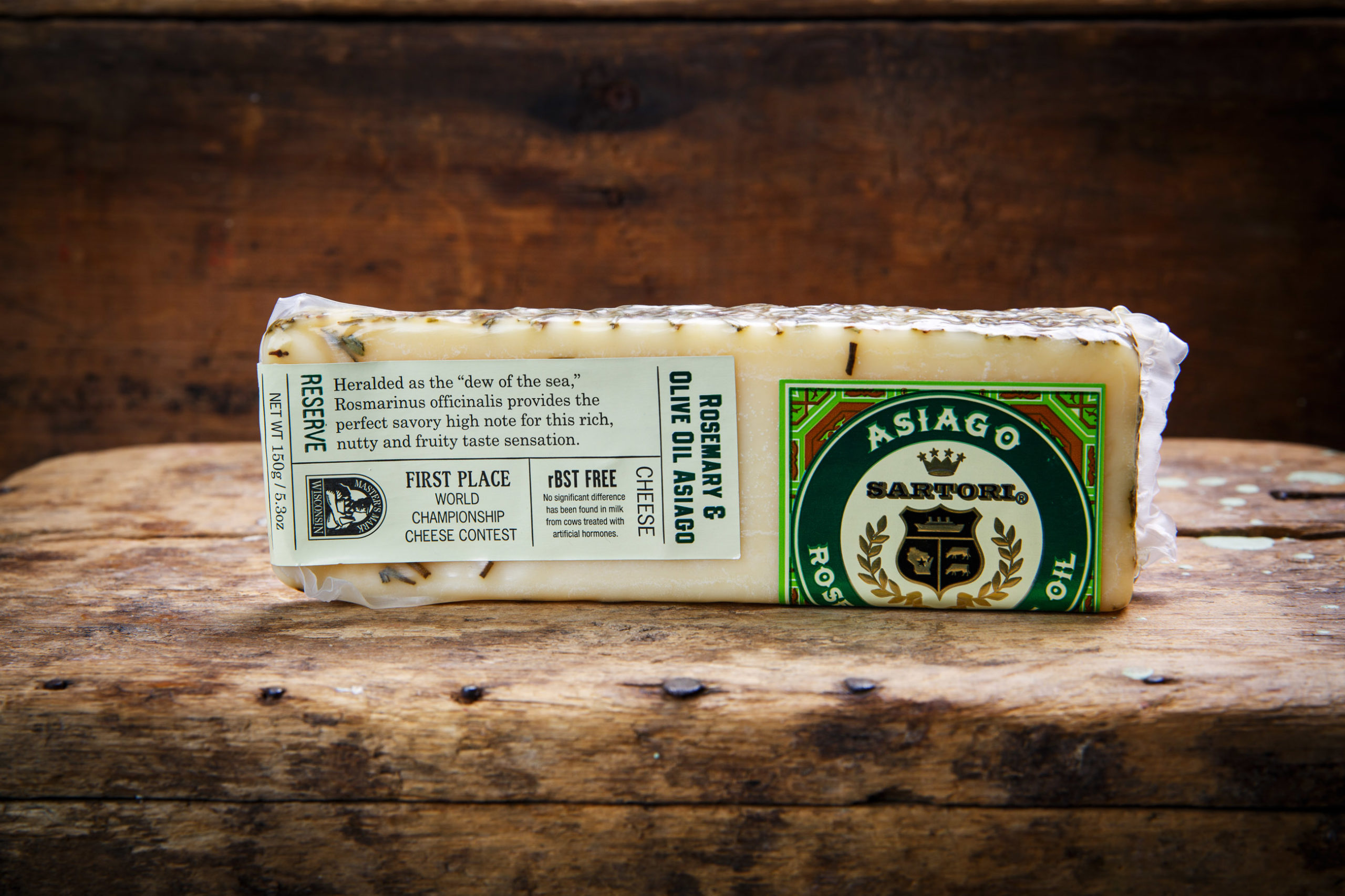 Rosemary and Olive Oil Asiago - 5.3oz-0