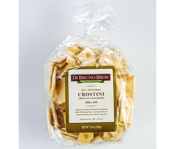 Di Bruno Bros All Natural Crostini Artisan Crackers Olive Oil Bag