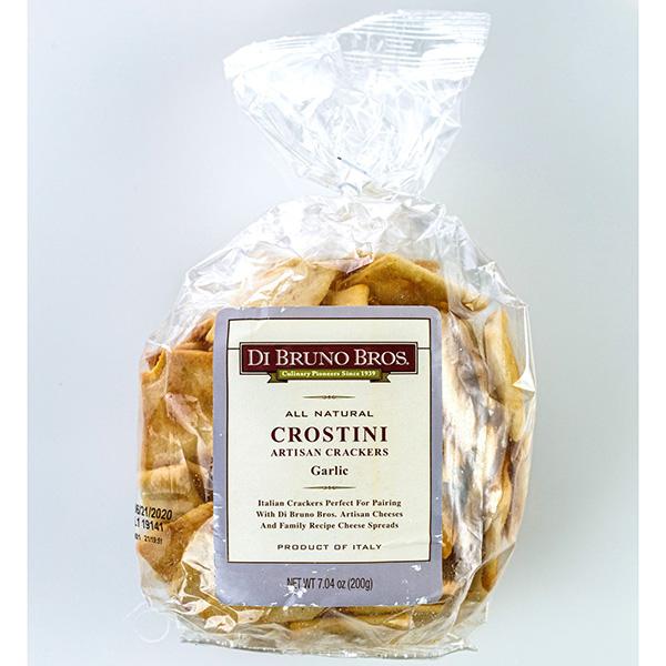Di Bruno Bros All Natural Crostini Artisan Crackers Garlic Bag