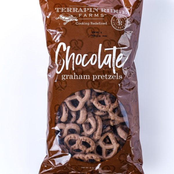 Chocolate Graham Pretzels - Terrapin Farms-0