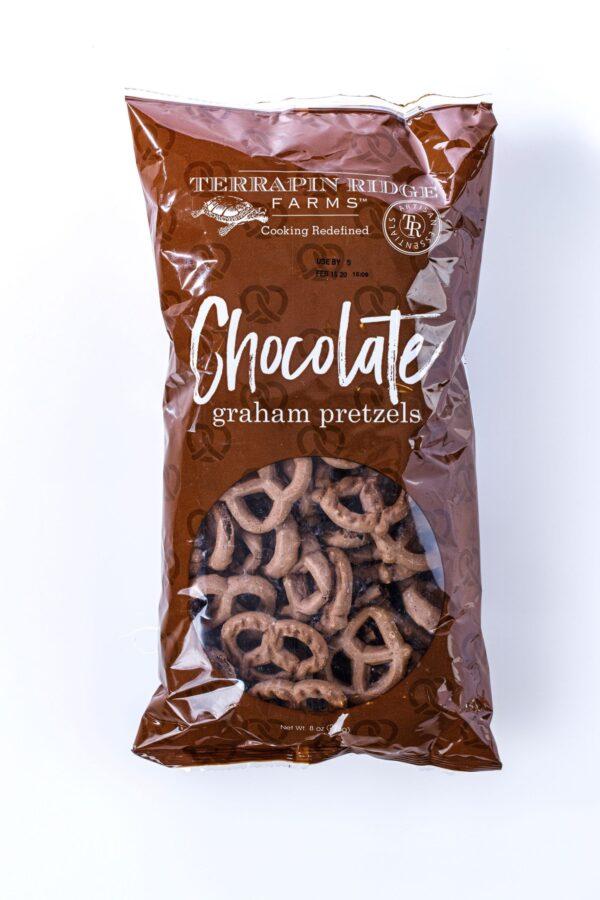 Chocolate Graham Pretzels - Terrapin Farms-0
