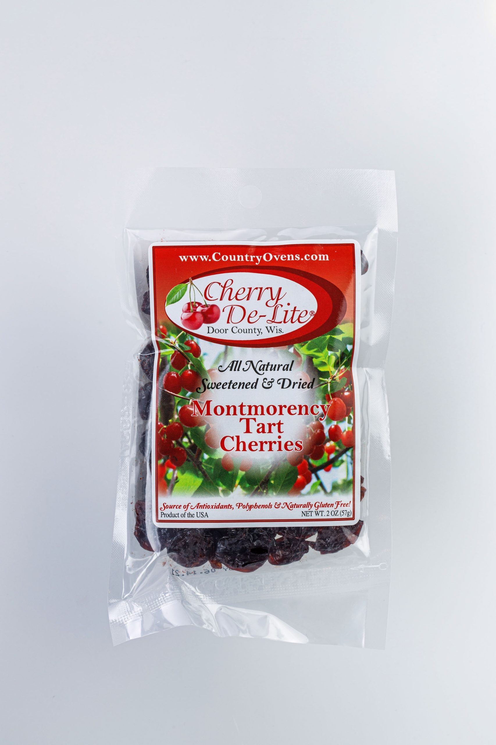 Cherry De-Lite Dried Cherries 2oz-0