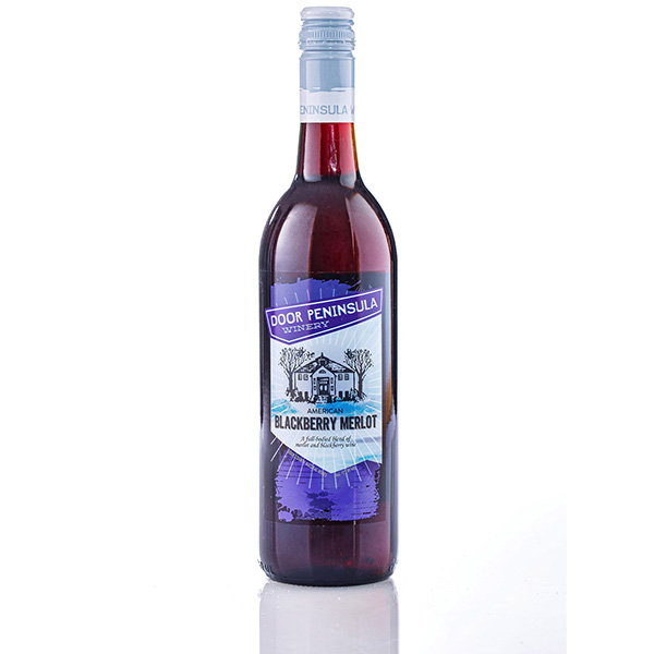 Blackberry American Merlot - Door Peninsula Bottle