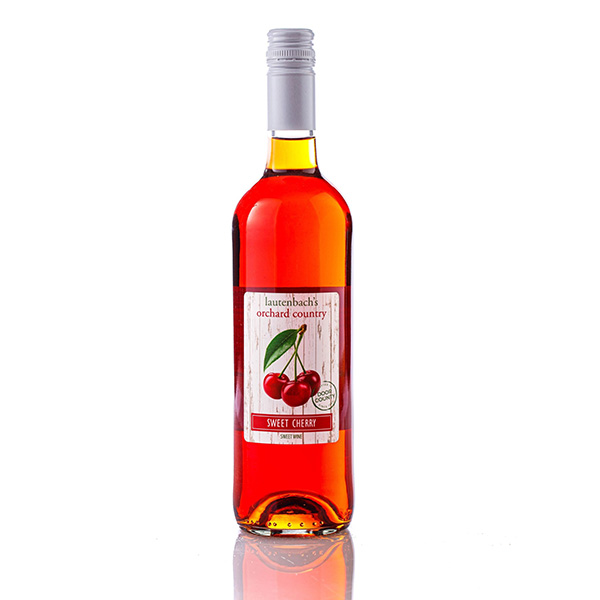 Sweet Cherry Wine - Orchard Country Bottle